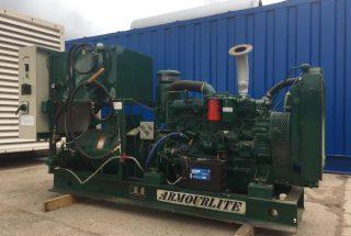 80 kVA Fiat Open Skid Diesel Generator