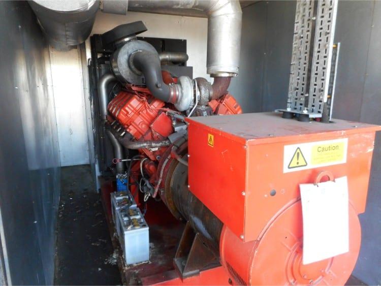 550 kVA Scania Used Diesel Generator