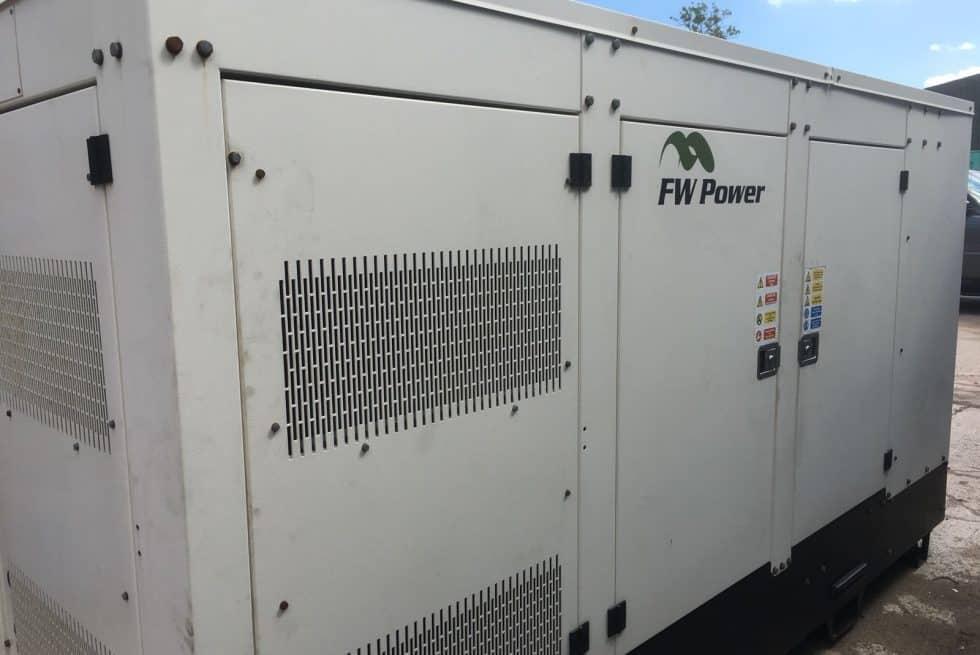 176 kVA Iveco Silent Diesel Generator