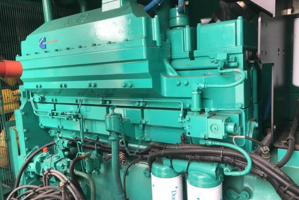 576 kVA Cummins Silent Diesel Generator