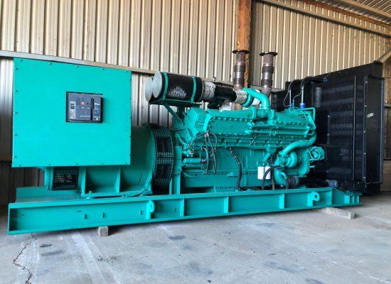 1250 kVA Cummins Open Skid Diesel Generator