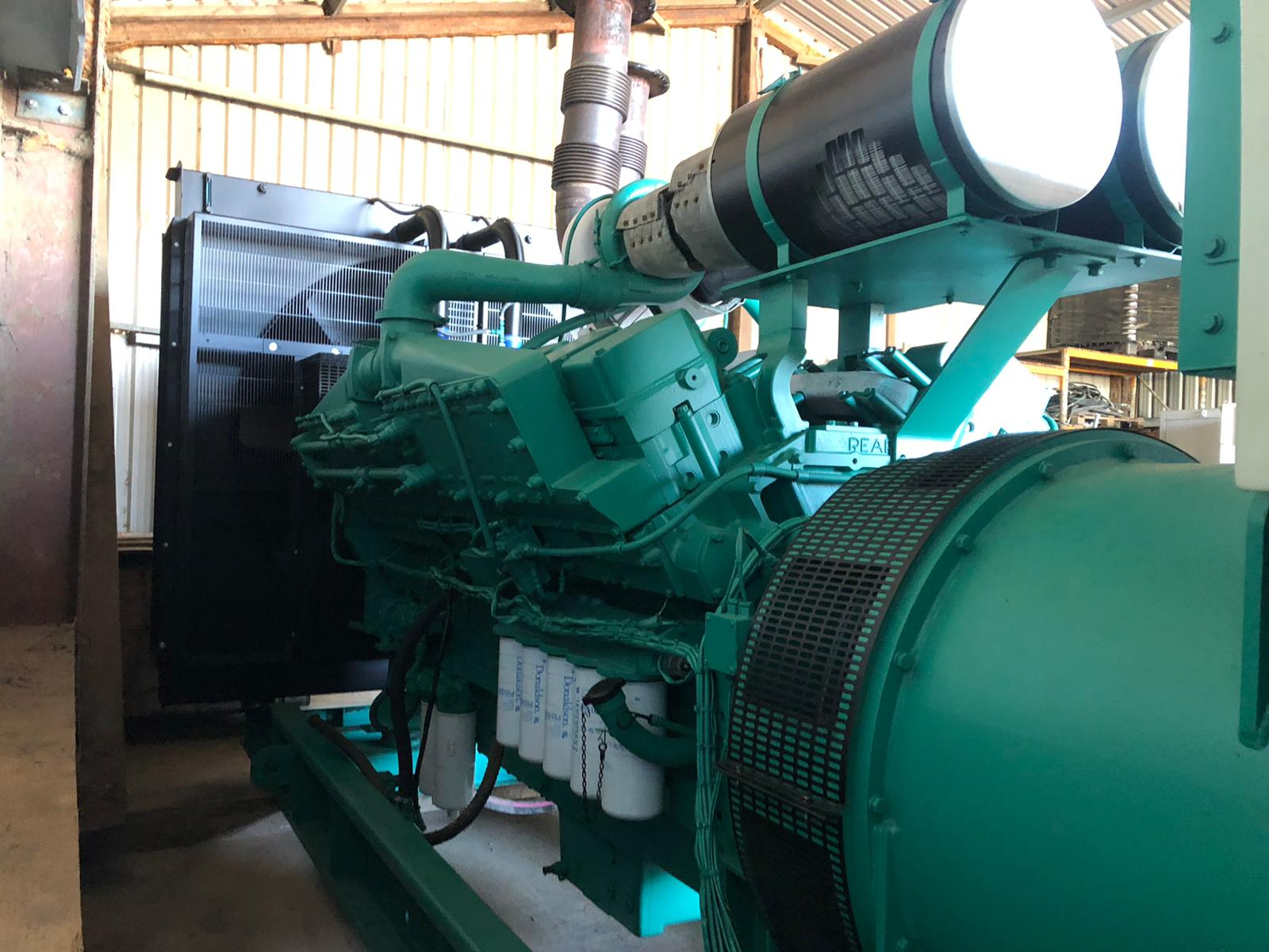 USED KTA50G3 GENERATOR FOR SALE