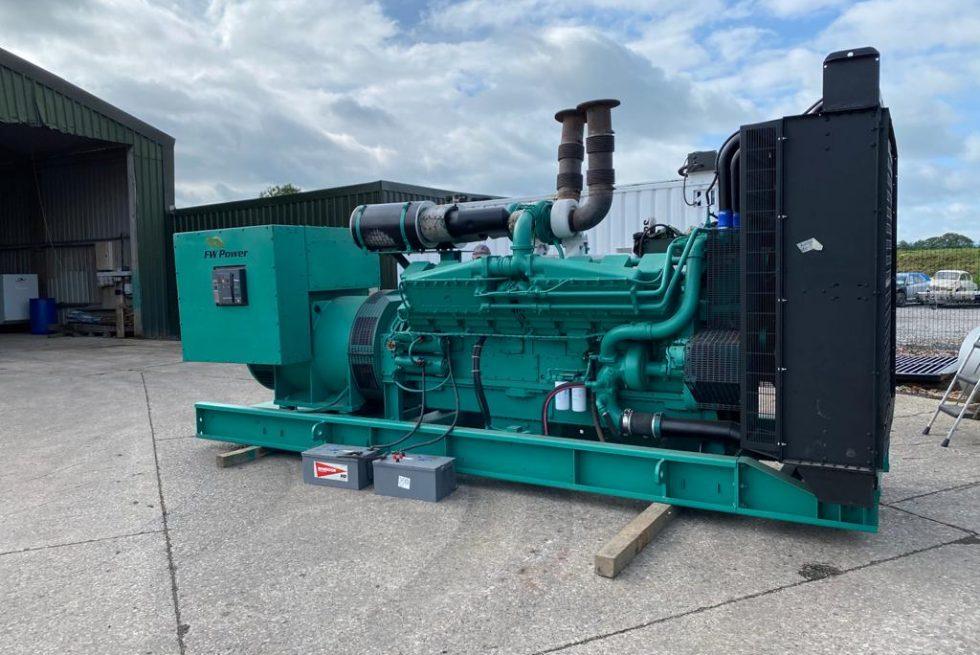 1250 kVA Cummins Diesel Generator