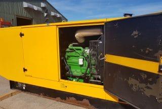 130 kVA John Deere Silent Diesel Generator