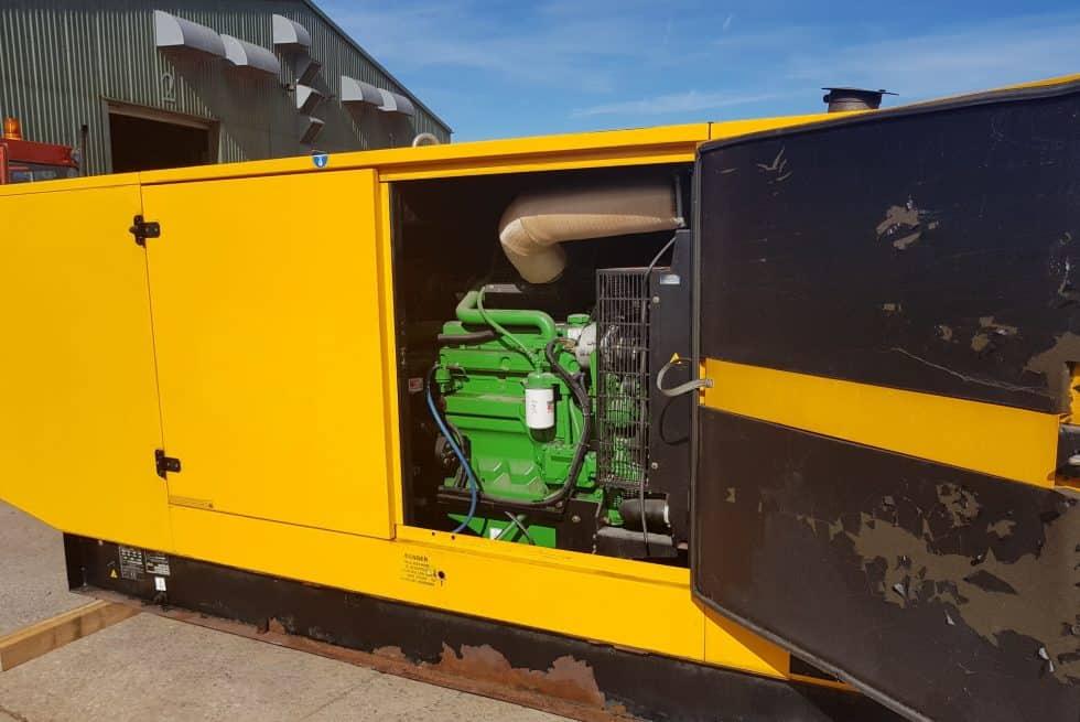 130 kVA John Deere Used Diesel Generator
