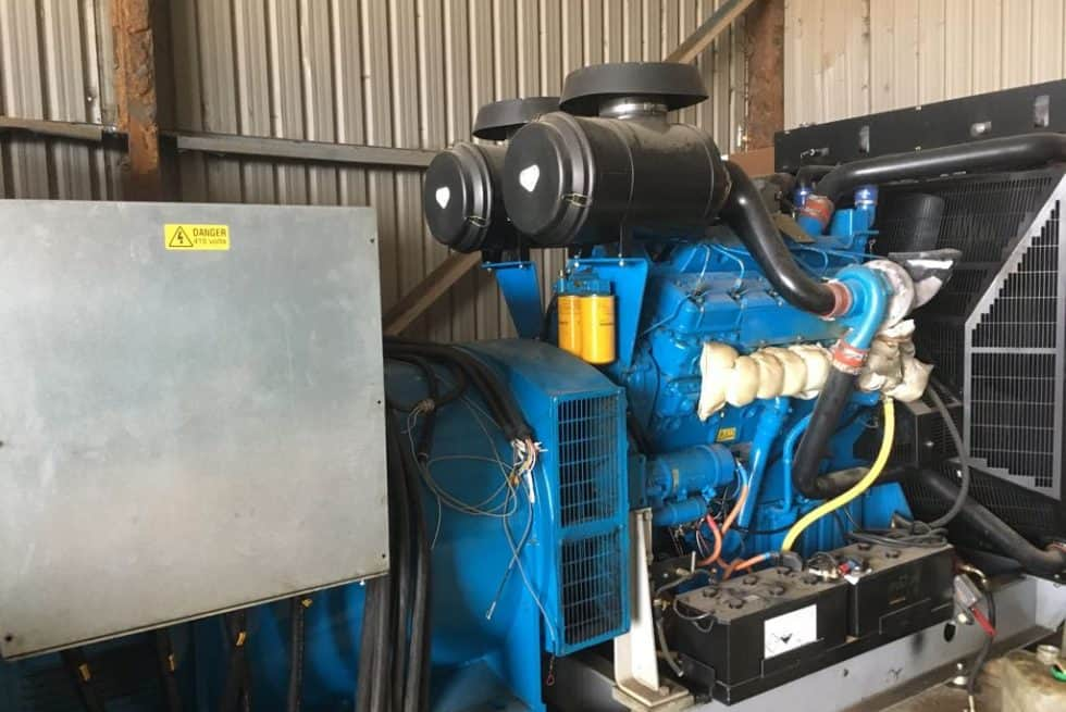800 kVA Open Skid Diesel Generator For Sale