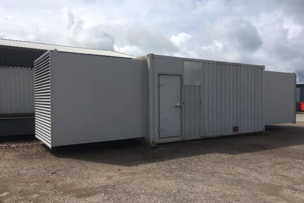 715 kVA MTU Used Diesel Generator