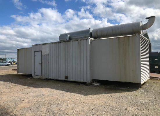 715 kVA MTU Containerised Diesel Generator