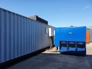 Witness test on 1000 kVA Cummins used diesel generator by FW Power
