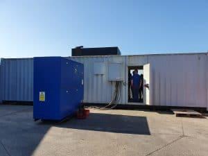 FW Power undertaking a Witness test on 1000 kVA Cummins used diesel generator.