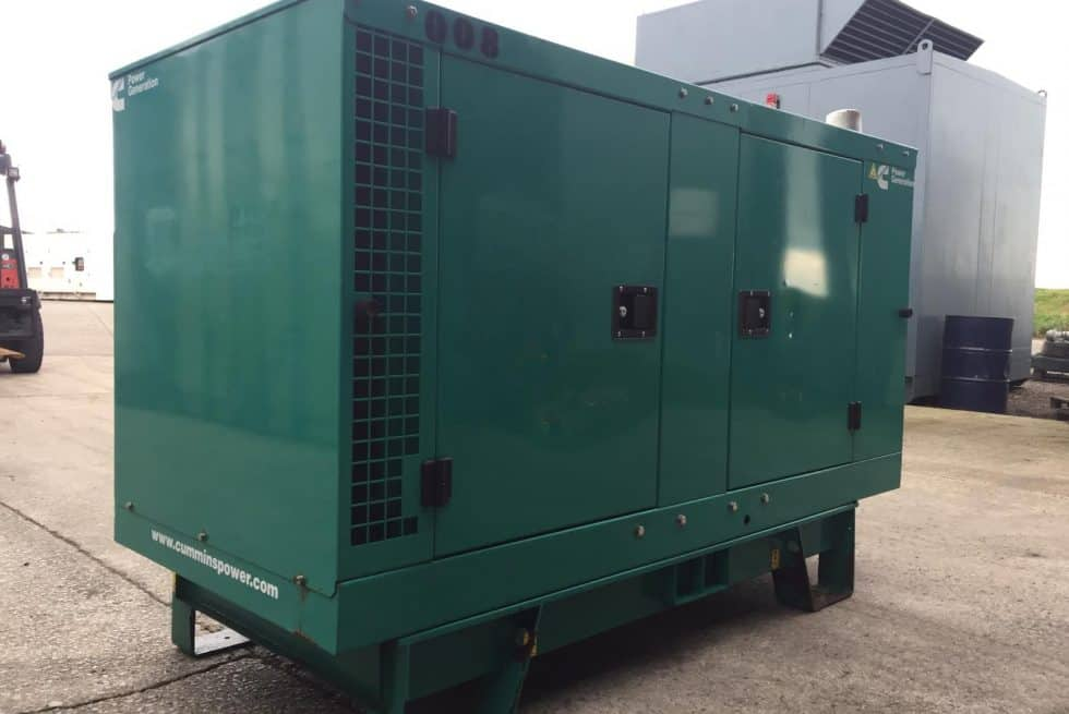 27 kVA Cummins Used Diesel Generator