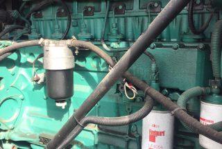 220 kVA Volvo Used Silent Diesel Generator