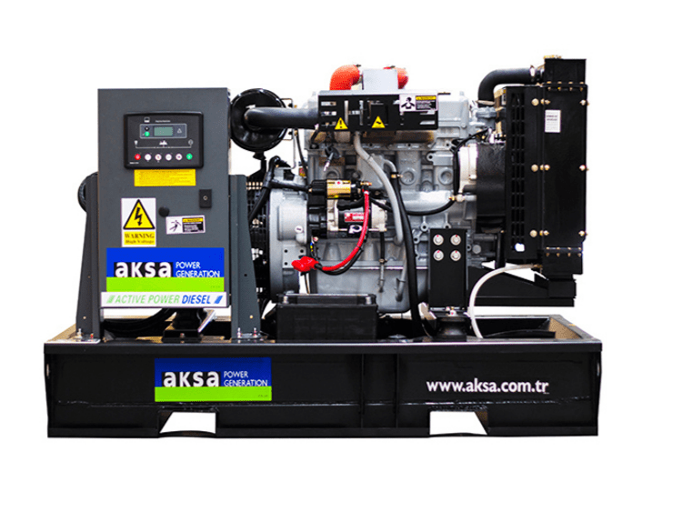 New Open skid diesel generator by FW Power