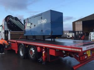 200 kVA SDMO used diesel generator sold by FW Power