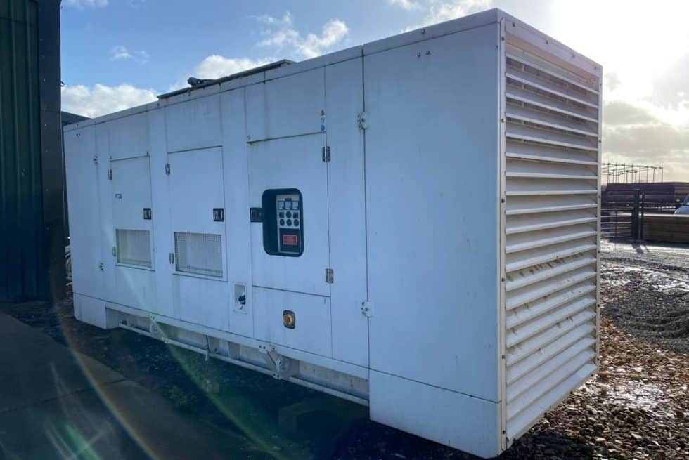 725 kVA Perkins Used Silent Diesel Generator