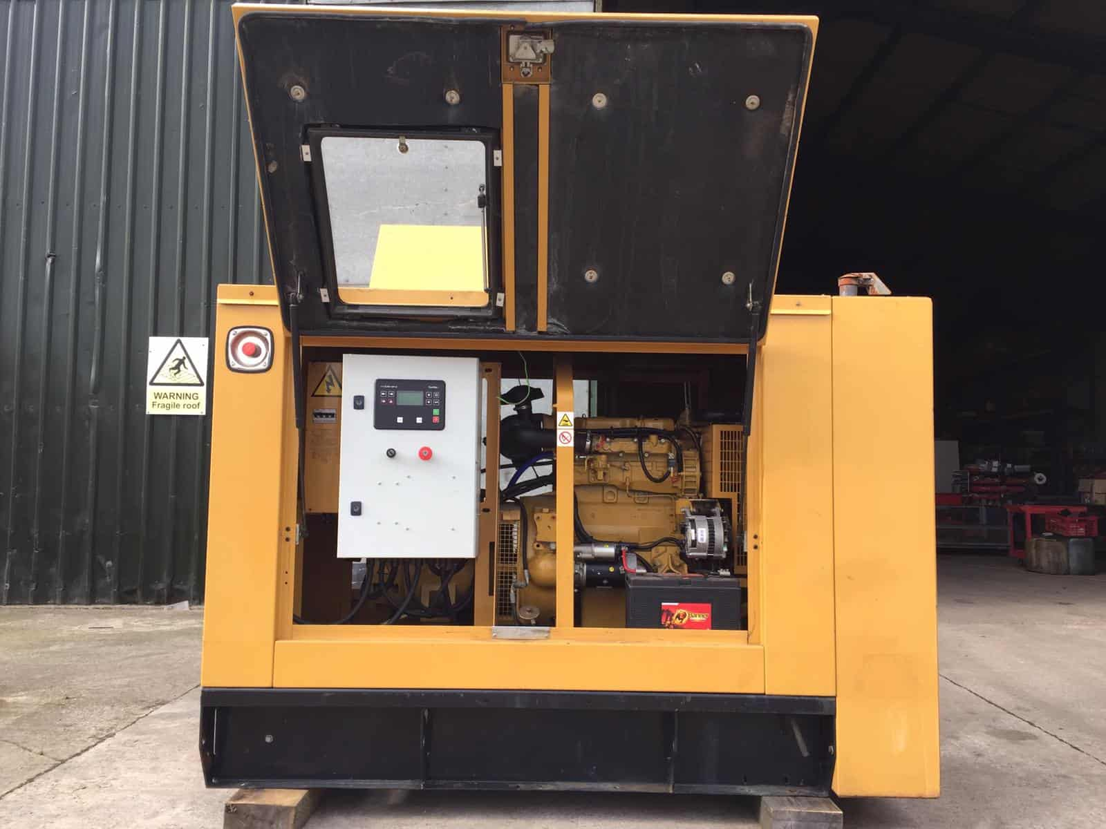 GOOD CONDITION USED CAT GENERATOR FOR SALE