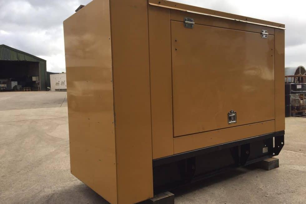 27 kVA CAT Used Silent Diesel Generator