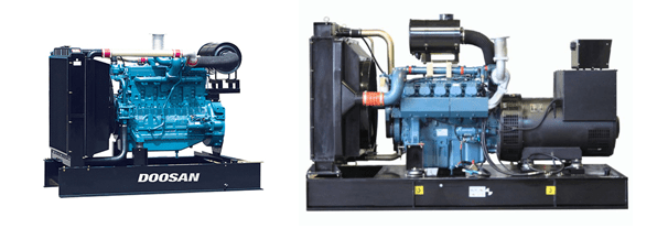 Doosan Generators - New Diesel Generator for sale - FW Power