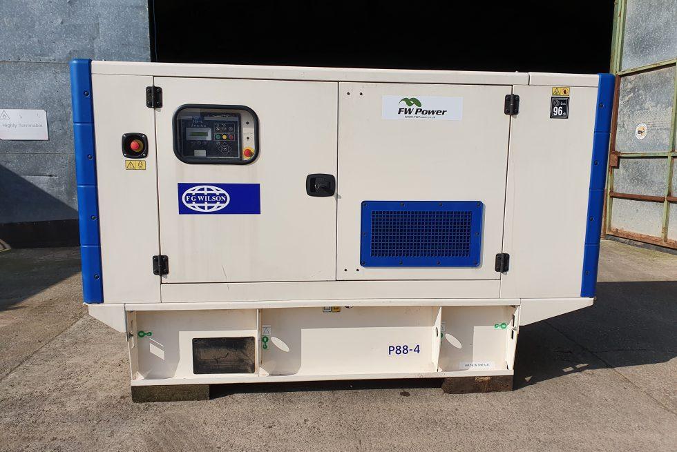 80 kVA Perkins Used Generator for sale