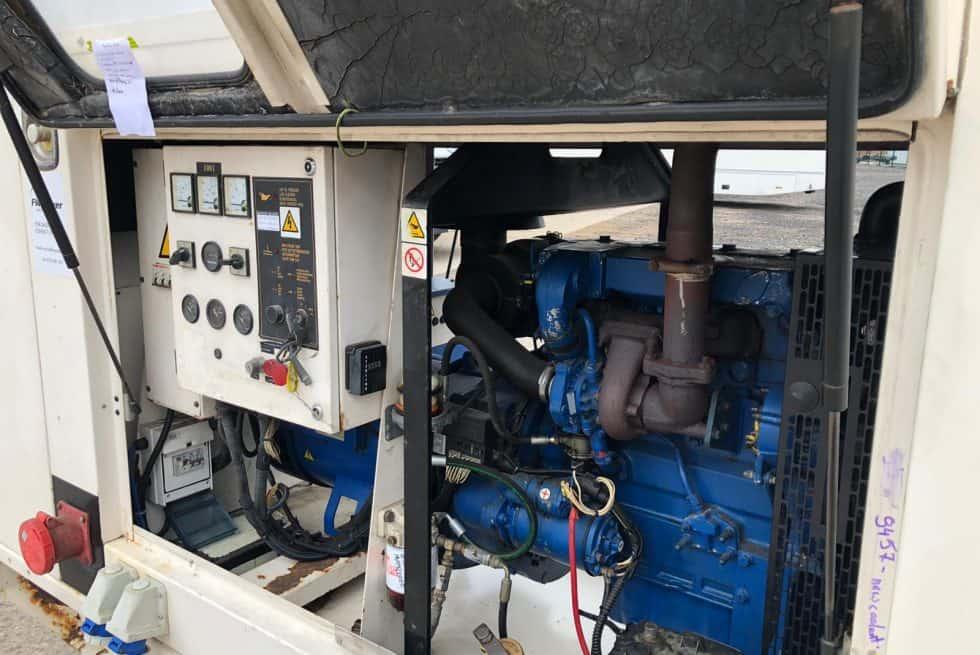 82 kVA Perkins Used Diesel Generator
