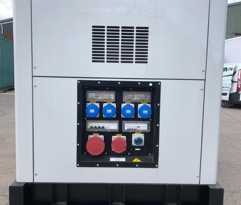 250 kVA Iveco Used Diesel Generator