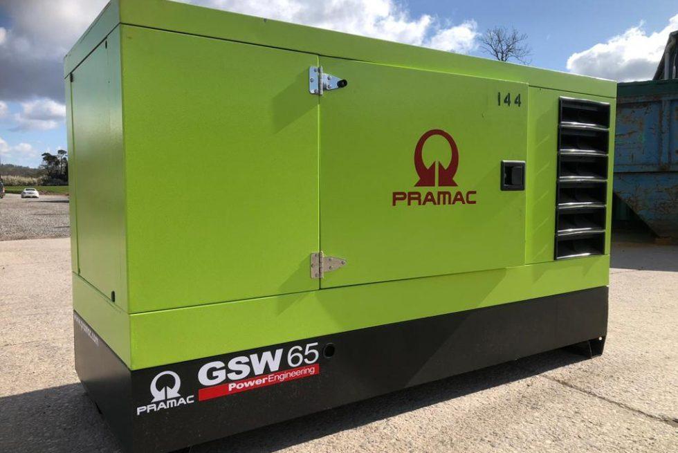 60 kVA Stage 3A Perkins Diesel Generator
