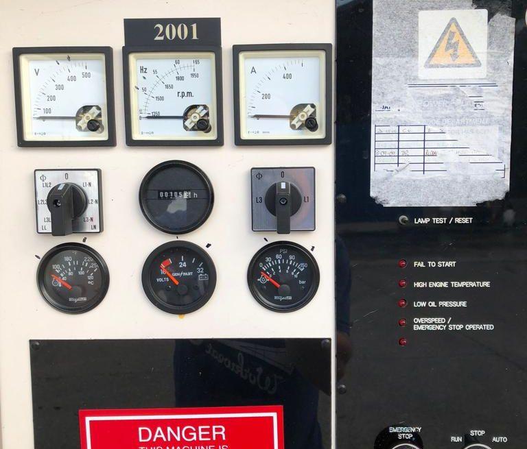 350 kVA Perkins Used Diesel Generator